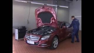 как снять подушку Airbag Mercedes-Benz Removing the Airbag