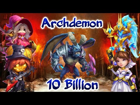 Arch | Stun Target And Huge | 10  Damage | Cosmo In Team | Castle Clash