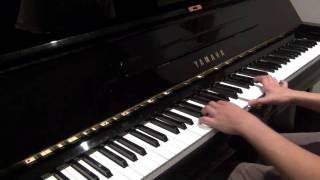Coldplay - Paradise (live version piano cover)