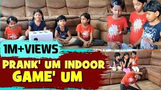 Prank'um indoor game'um   ini's fun galataa   dice game and yoga positions   ini's galataas