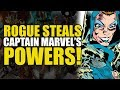 Rogue Steals Captain Marvel's Powers! (The Avengers Annual #10)