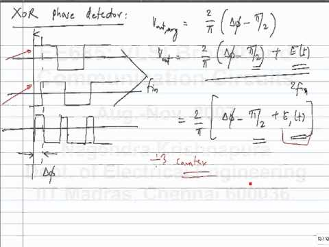 lecture37 - Introduction to clock and data recovery - Frequency multiplication using a PLL