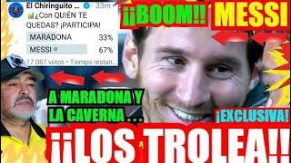¡¡ EL MADRIDISMO DA LA RAZÓN A MESSI !! ¡ÚLTIMA HORA! FC BARCELONA NOTICIAS.
