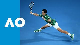 Jan-Lennard Struff vs Novak Djokovic | Australian Open 2020 R1
