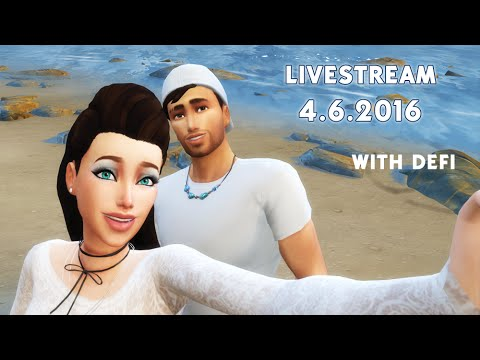 Stream: The Sims 4 / Defi's new family - part 2