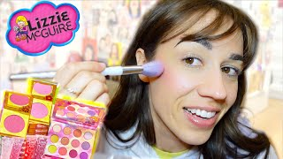 Trying The Lizzie McGuire Makeup Collection!