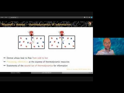 """Energetic cost of Hamiltonian quantum gates"", by Sebastian Deffner (UMBC)"