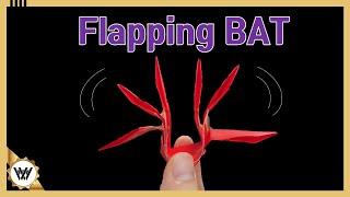 날갯짓 박쥐 귀여운 할로윈 데코 색종이접기!
