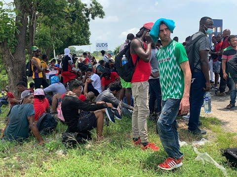 Testimonio de migrantes de Haití