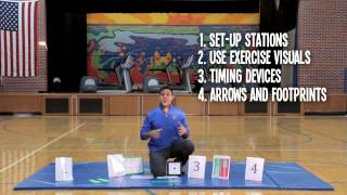 Physical Education Routine for Children with Autism