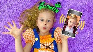Download Настя и день рождения Ромы в стиле Хеллоуин Mp3 and Videos
