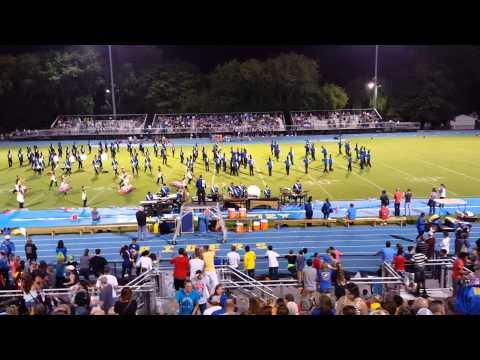 Caesar Rodney High School Band 9-11-2015