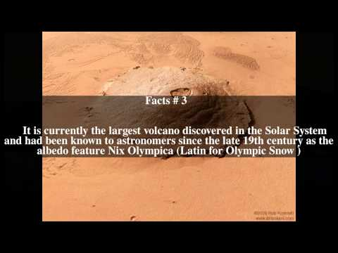 Olympus Mons Top # 6 Facts