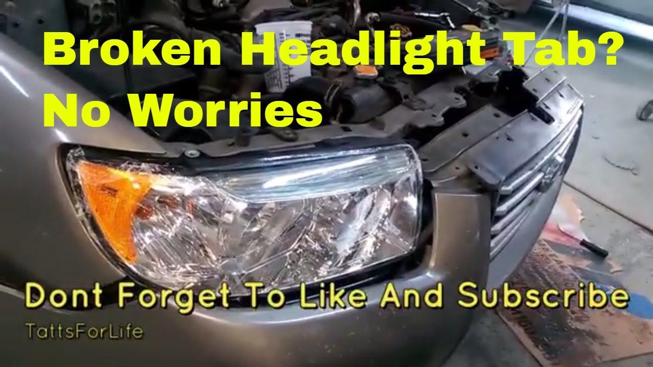 Plastic Welding Repair | Broken Headlights | How To | Subaru Forester