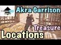 Assassin's Creed Origins - Akra Garrison Loot Treasure Locations