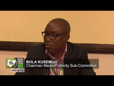 Bola Kusemiju, Chair Media & Publicity Sub-Commitee, 4th Nigeria FP Conference
