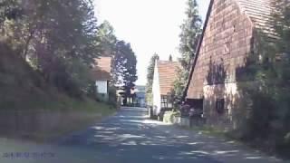 Eine Fahrt im überwälder Nibelungenland von Hammelbach nach Litzelbach / The Nibelungen Odenwald