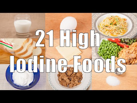 21 High Iodine Foods (700 Calorie Meals) DiTuro Productions