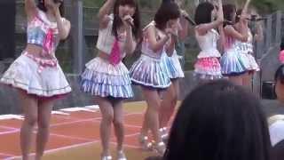 150820 AKB48 被災地訪問 気仙沼 南町紫市場 ② 会いたかった
