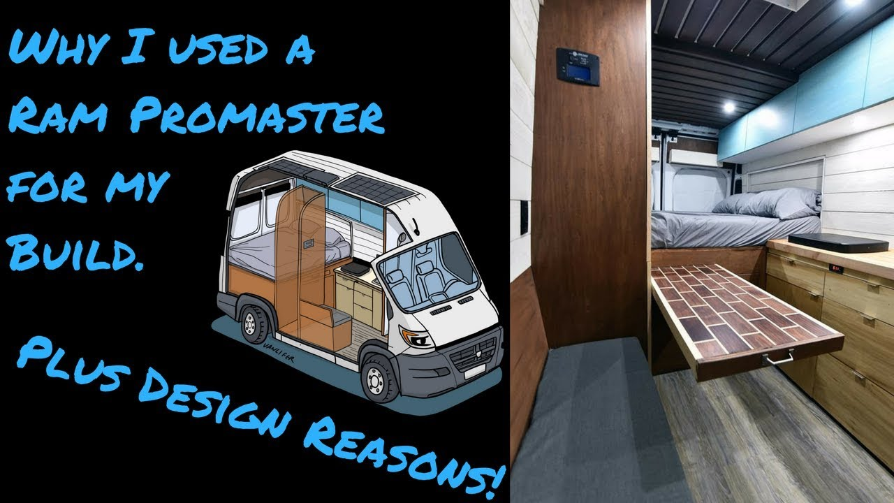 Build A Dodge >> Why I Used Ram Promaster to Build a Tiny Home / Stealth Van - YouTube