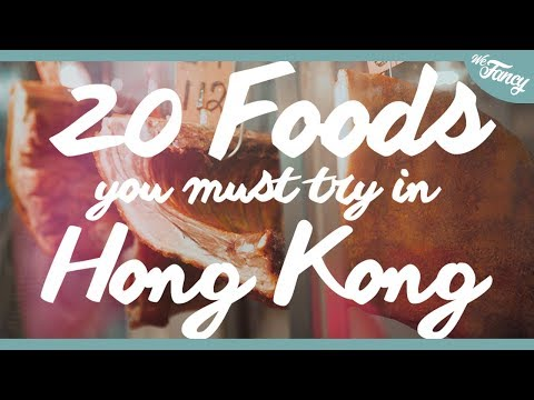20 Hong Kong Foods You MUST TRY!