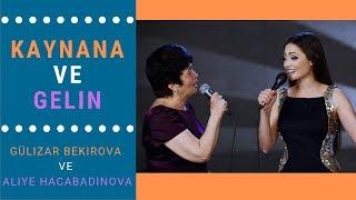 Gülizar Bekirova ve Aliye Hacabadinova - Kaynana ve Gelin | Qaynana ve Kelin (Altyazılı)