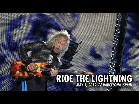 Metallica: Ride the Lightning (Barcelona, Spain - May 5, 2019)