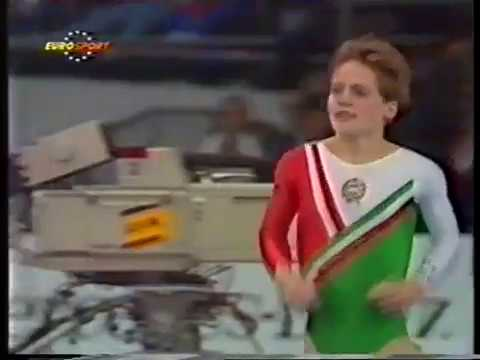 1989 World Gymnastics Championships - Women's Team Optionals, Part 1 (Eurosport)