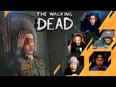 Gamers Reactions to (SPOILER!!!) Marlon and Brody Action | The Walking Dead: The Final Season