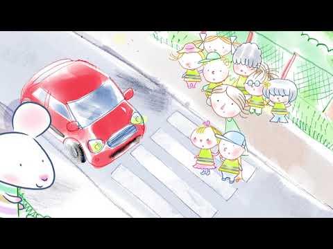 Myszka w paski | Zasady bezpieczeństwa na ulicy | bajki dla dzieci MiniMini+
