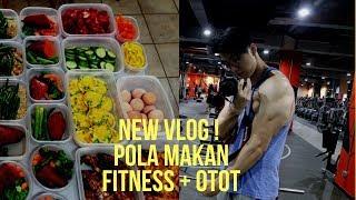 POLA MAKAN UNTUK FITNESS DAN MEMBENTUK OTOT ( FULL DAY OFF EATING ) + MY  OFF DAY