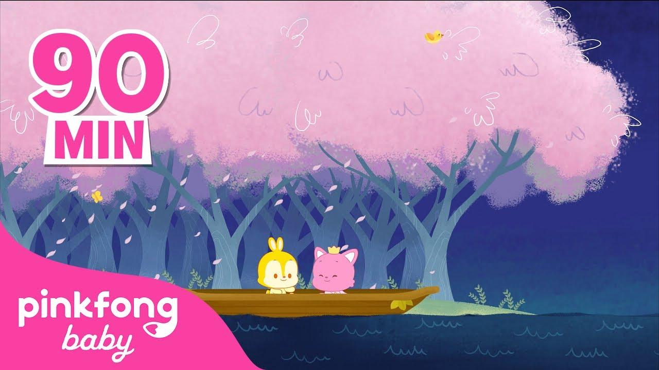 Música Relajante  l Pinkfong & Hogi | Canciones de cuna para dormir | @Pinkfong! Baby Friends 