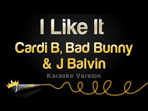 Cardi B, Bad Bunny & J Balvin - I Like It (Karaoke Version)