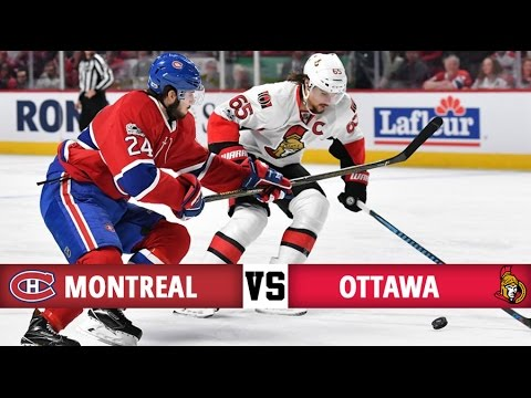 Montreal Canadiens vs Ottawa Senators | Season Game 72 | Highlights (19/3/17)