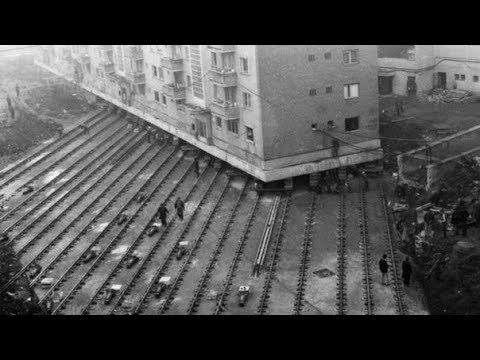 КАК ПЕРЕЕХАЛ ДОМ? Перемещение Зданий в Москве: Как и Зачем Это Делали? Фото До и После Перемещений