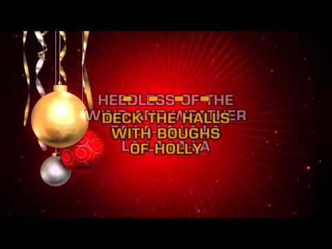 Boxcar Willie - Deck The Halls (Karaoke)