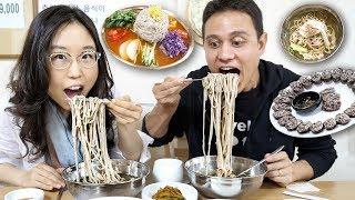 NORTH KOREAN FOOD EXPERIENCE - ft Mark Wiens