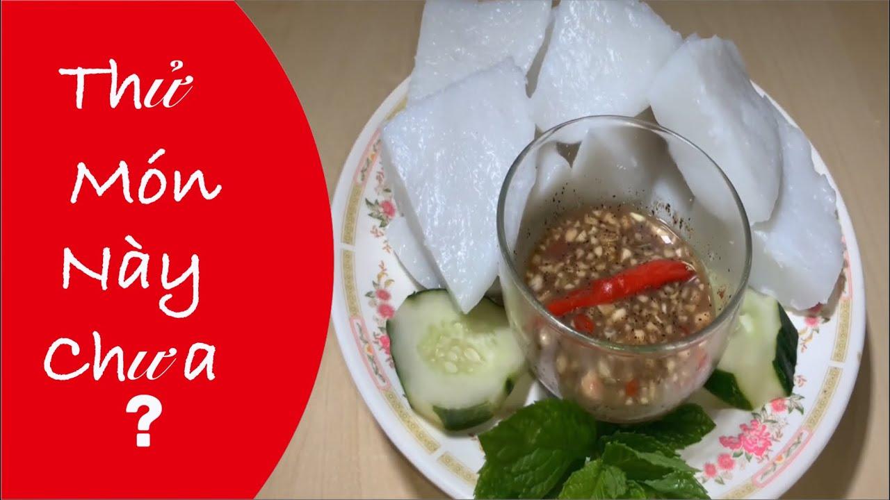 Phương Pháp Làm Bánh Đúc Chấm Mắm Nêm Và Bánh Đúc Đậu Phộng Bánh Đúc Lạc / Steam Rice Cake