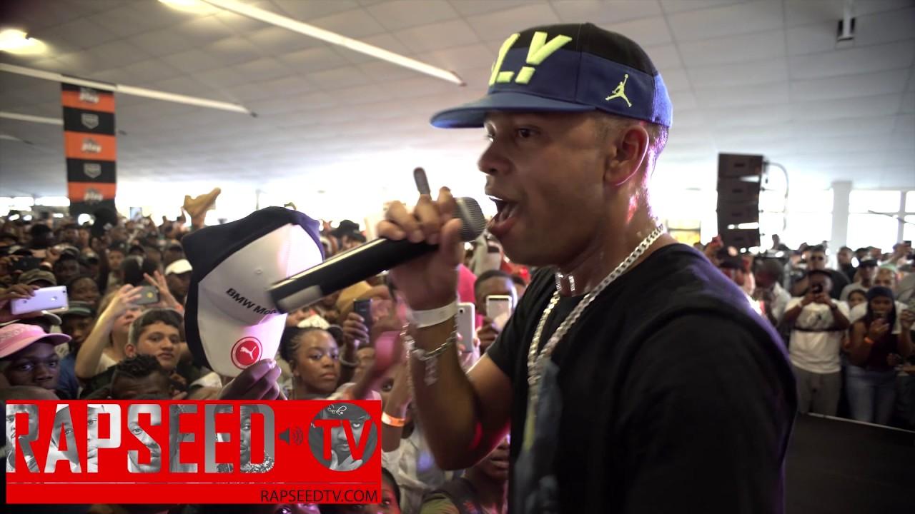 "Download YoungstaCPT  Tackles Kendrick Lamar ""Humble"" Beat At Sneaker Exchange"