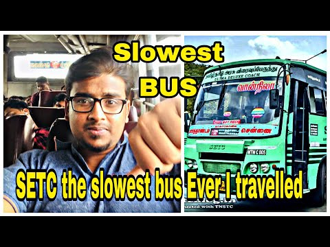 Don't Travel in Old SETC | Slowest Bus Ever | SETC Semi Sleeper | Worst Bus Journey | Travel Vlog