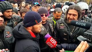 Закрытие мото сезона 2018г Ночные волки. С Хабибом Нурмагомедовым !!!