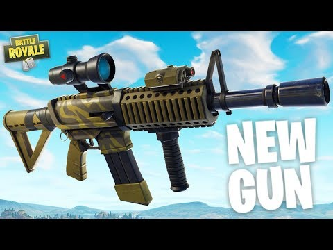 NEW Thermal Scope AR & Purple Omega! - New Fortnite Update - Fortnite Battle Royale Gameplay thumbnail