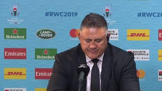 Joseph and Leitch after Japan go out of Rugby World Cup 2019