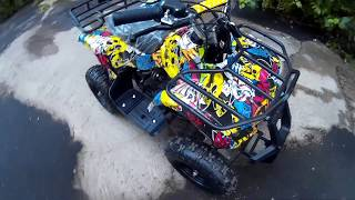 Детский квадроцикл на бензине ATV Classic mini