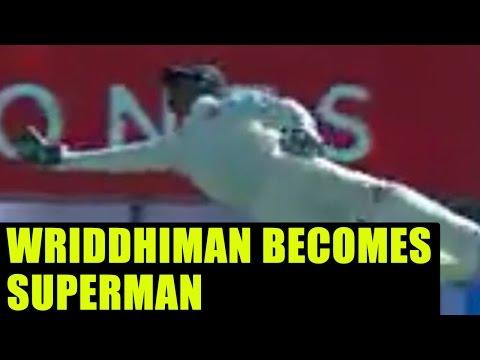 India vs Australia: Rohit Sharma reacts on Wriddhiman Saha's catch; Twitter praised | Oneindia News