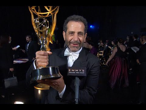 71st Emmys Thank You Cam: Tony Shalhoub From The Marvelous Mrs. Maisel