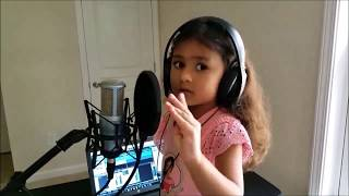 O Ore Raja (Cover) by Sarisha Jain(4 Yrs Old) | Hindi| Bahubali 2 | Prabhas | Anushka