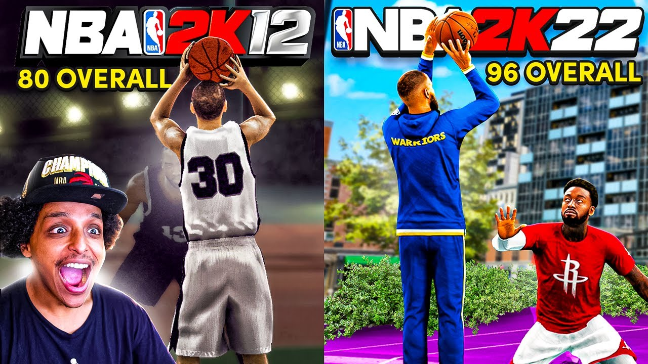 THE EVOLUTION OF STEPH CURRY IN EVERY SINGLE NBA 2K