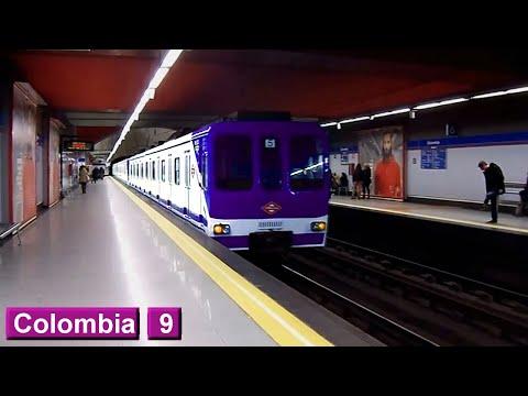 Colombia L9 : Metro de Madrid ( Serie 5500 - 5000 )
