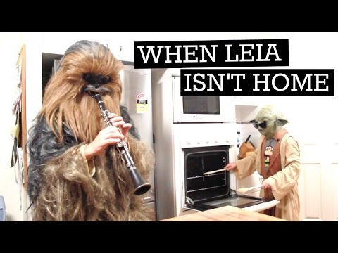 When Mama Isn't Home / When Mom Isn't Home / When Leia Isn't Home (Star Wars)